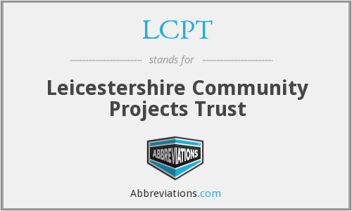 What does LCPT stand for?