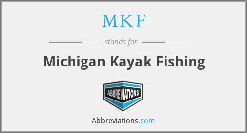 MKF - Michigan Kayak Fishing