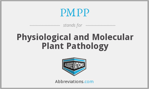 PMPP - Physiological and Molecular Plant Pathology