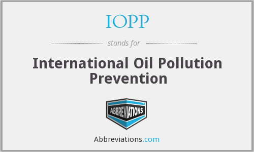 What does IOPP stand for?