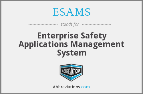 What does ESAMS stand for?