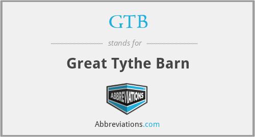 GTB - Great Tythe Barn