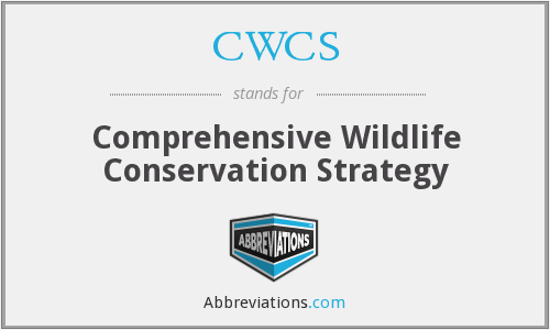 What does CWCS stand for?