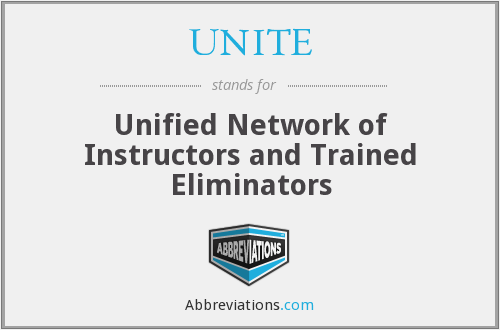 What does UNITE stand for?