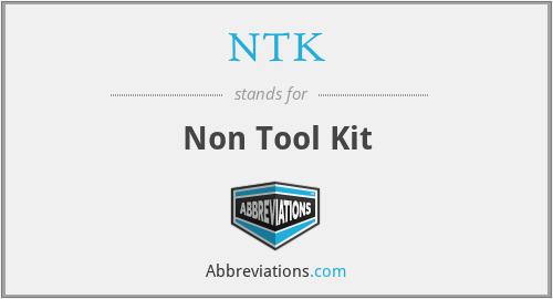 NTK - Non Tool Kit
