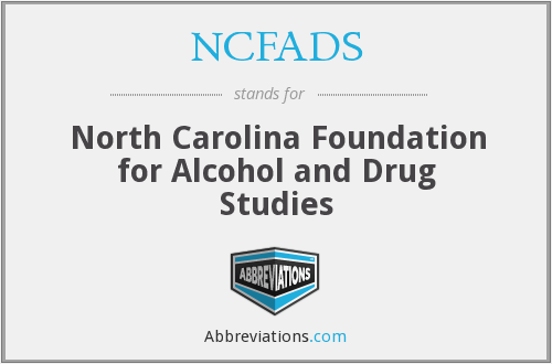 What does NCFADS stand for?