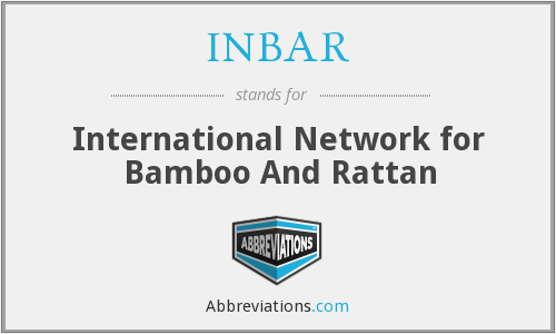What does INBAR stand for?