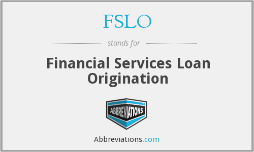 What does FSLO stand for?