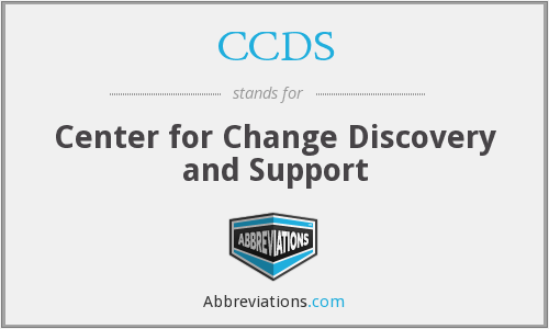 CCDS - Center for Change Discovery and Support