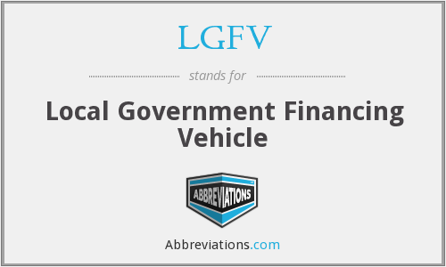 What does LGFV stand for?