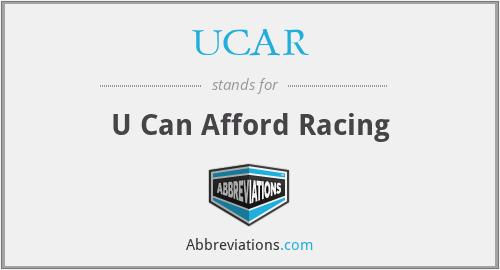 UCAR - U Can Afford Racing