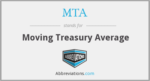MTA - Moving Treasury Average