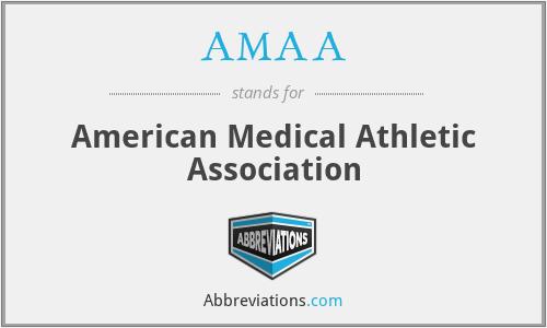 AMAA - American Medical Athletic Association