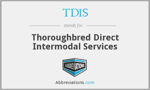 TDIS - Thoroughbred Direct Intermodal Services