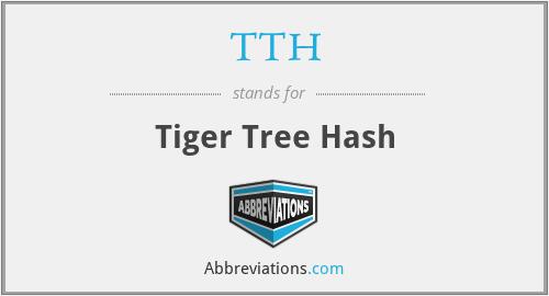 TTH - Tiger Tree Hash