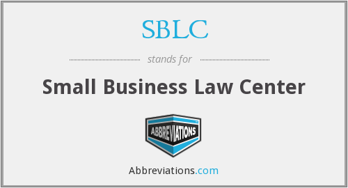 SBLC - Small Business Law Center