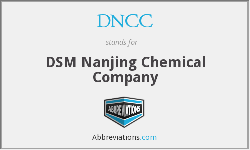 DNCC - DSM Nanjing Chemical Company