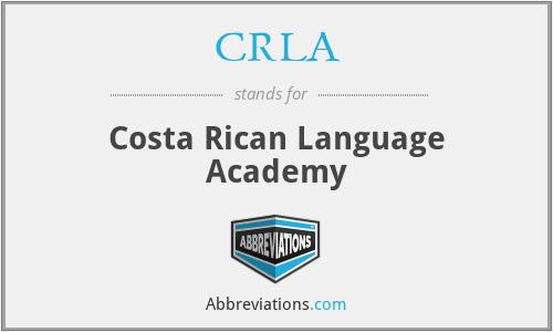 CRLA - Costa Rican Language Academy