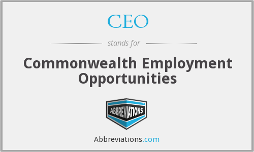 CEO - Commonwealth Employment Opportunities