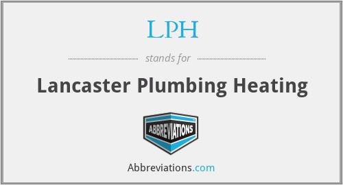 LPH - Lancaster Plumbing Heating