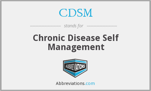 What does CDSM stand for?