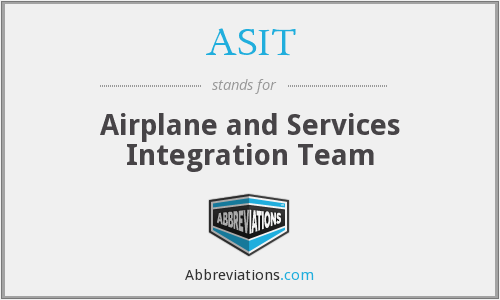 ASIT - Airplane and Services Integration Team