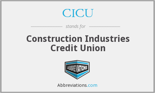 CICU - Construction Industries Credit Union