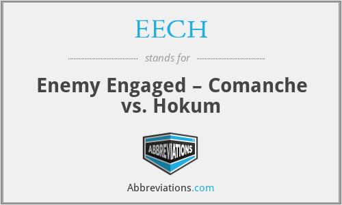 EECH - Enemy Engaged – Comanche vs. Hokum