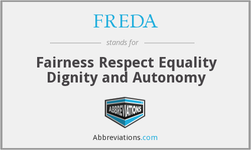 What does FREDA stand for?