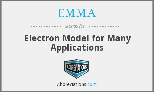 EMMA - Electron Model for Many Applications