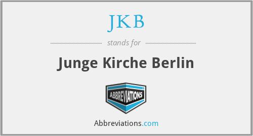 JKB - Junge Kirche Berlin