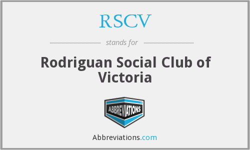 What does RSCV stand for?
