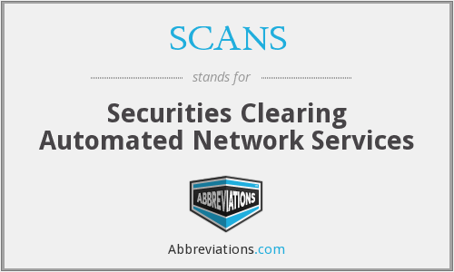 What does SCANS stand for?
