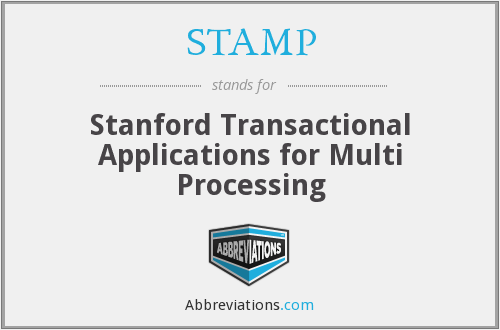 STAMP - Stanford Transactional Applications for Multi Processing