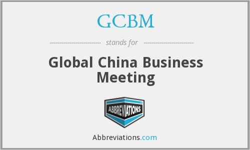 What does GCBM stand for?