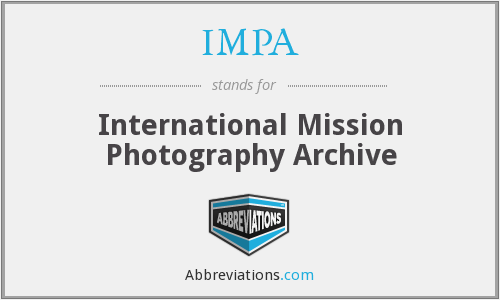IMPA - International Mission Photography Archive