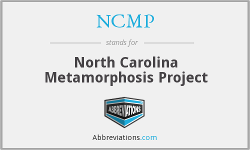 NCMP - North Carolina Metamorphosis Project