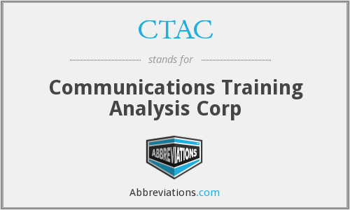 CTAC - Communications Training Analysis Corp