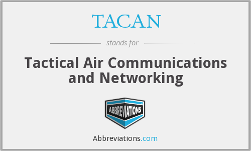 What does TACAN stand for?