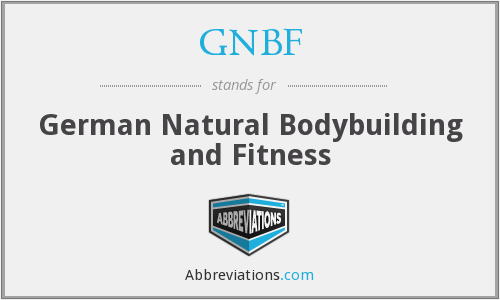 GNBF - German Natural Bodybuilding and Fitness