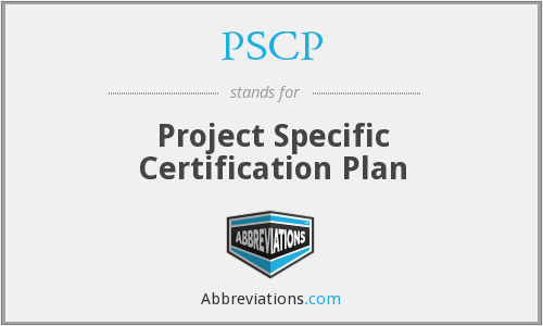 What does PSCP stand for?