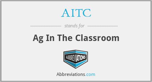AITC - Ag In The Classroom