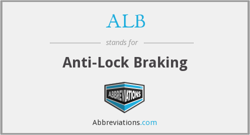 ALB - Anti-Lock Braking