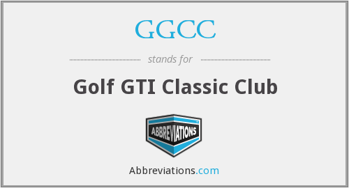 GGCC - Golf GTI Classic Club