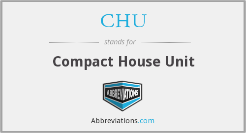 CHU - Compact House Unit
