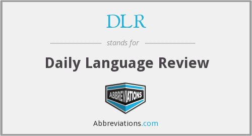 DLR - Daily Language Review