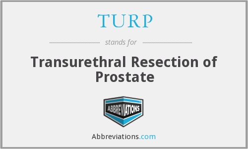 TURP - Transurethral Resection of Prostate