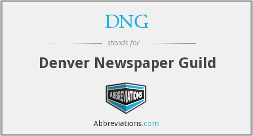 DNG - Denver Newspaper Guild