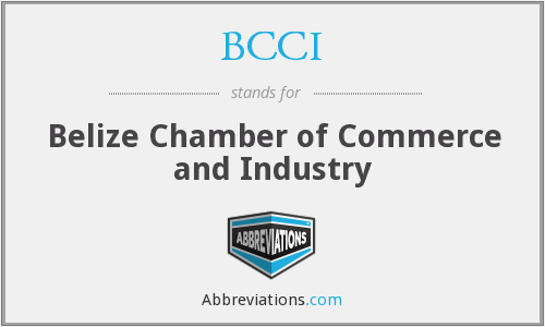 BCCI - Belize Chamber of Commerce and Industry