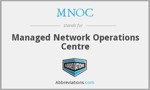 MNOC - Managed Network Operations Centre